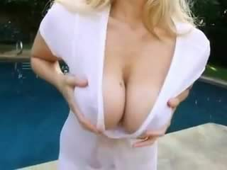 Extraordinary Middle Aged Hot Blonde With Big Boobs Nailed