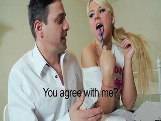 Spoiled Blonde Without Shame Pushes Mentor To His Limits