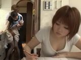 Secretly Doing Mother In Law Hitomi Ohashi Behind Wifes Back Literally
