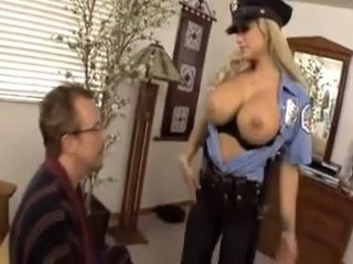 Milf Police Officer Disarm Suspect With A Huge Boobs
