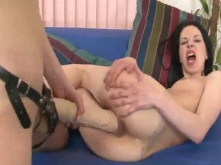 Lena and Osha are college coeds who like to stretch each others holes