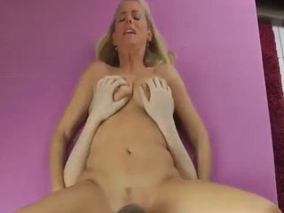 Hot sexy milf banged hardcore by a skillful young lover