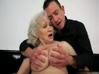 Mature Granny Healing Her Depression With Young Gigolo