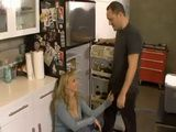 Sinful Hot Looking Milf Grab For Penis Sisters Husband In The Kitchen