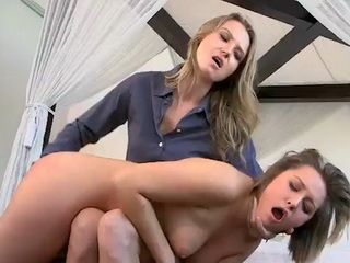 Alina Long sets pussy on Baileys mouth