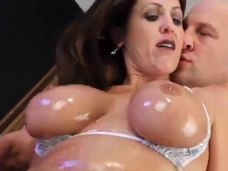 Taylor Ann is a busty MILF who loves riding giant cock