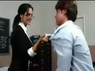 Stunning MILF Teacher Knows How To Punish Bad Student