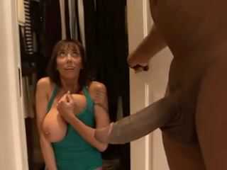 Caught In Spying Her Stepdaughter While Having Sex Horny Mommy Had To Be Punish