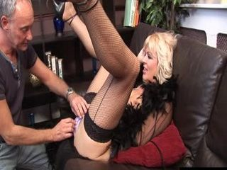 Busty Mature In Fishnets Prove That She Still Can Fuck Much Better Than Some Young Ones