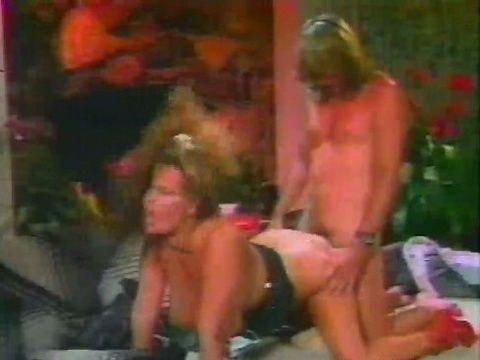 Huge Tits Vintage Milf Pornstar Gets Doggystyle Anal Sex