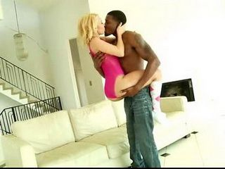 Cock Hungry Bitch Cant Wait This Big Black Monster Fill Her Pussy