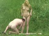 Blonde Teen Fucked By The River By Older Man