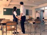 Sweet Asian Schoolgirl Gangbanged In Empty Classroom