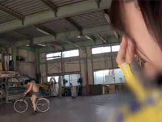Young Japanese Cyclist Had Problem With Her Bicycle So She Asked For Help Her Horny Neighbor
