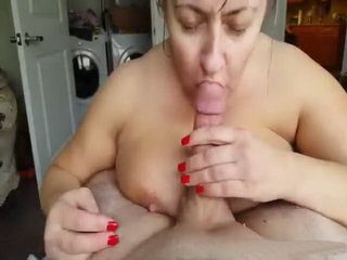 Granny Gives Great Blowjob To Her Old Grandpa