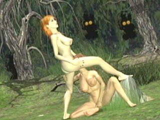 3d Animation Licking Pussy In The Forest