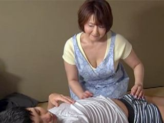Japanese Stepmother Waking Up Her Stepson With Good Handjob