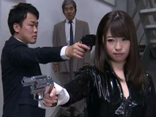 Young Policewoman Fall Into The Trap Of Her Informers And Gets Roughly Torture And Punished With Throatfuck - Hatsumi Sa