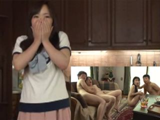 Shocked Wife Could Not Belive That Her Husband And His Friend Bring Hookers At Her House - Hitomi Enjo Azusa Mayumi