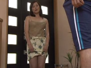 Lustful Asian Mother Can Not Resist The Desire Of Fucking With Her Sons Young Friend - Yoko Kurino