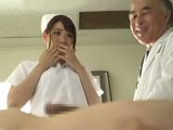An Undercover Cop In The Hospital Had To Enter Into The Role Of Nurse And Take A Sperm Sample From Patient - Mio Kayama
