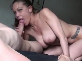 Nice Blowjob And Handjob From Busty Girls