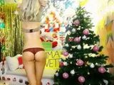 Hot Blonde Teen Waiting For Santa s Helper