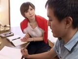 Private Teacher Instead Of Teaching Gives Her Studend Amazing Blowjob