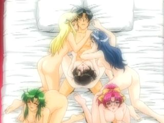 Monster Cock Hentai Gangbanged Five Girls