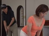 Hot Asian Maid Hitting On Her Golfer Boss For A Long Time And Finally She Has Him For Herself - Kazumi Yanagida