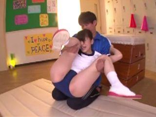 Pervert Coach Molesting Young Ungainly Girl - Mashita Mahiri