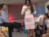 Blackmailed Collegue With Her Naked Pictures Fucked By Office Guys - Sho Nishino