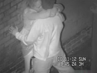 Street Camera Caught Horny Couple In The Alley Two Nights In A Row