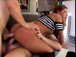 Ganging Hot Latina Wet Pussy And Asshole