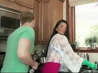Stepmom Found A Way To Get Close And Lead Him To A Hot Fuck