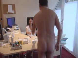 Naughty Old Perv Patient Surprise Medical Nurse Naked