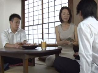 Horny Milf Mom Kaoru Fueki Give Her Ass To Her Sons Friend
