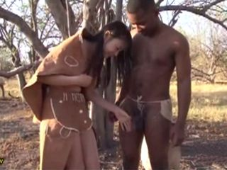 Tour Of African Tribe Interested Her Only To Tour Their Big Black Cocks - Natsume Airi