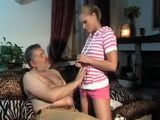 Naughty Teenage Daughter Knows What She Has To Do To Get Stepdads Golden Credit Card