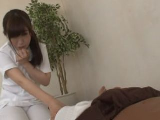Horny Masseuse Tried To Ignore Clients Boner But Temptation Was Huge