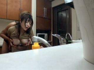 Young Master Set Hidden Cams All Over The Kitchen To Tape While Fucking New Housemaid