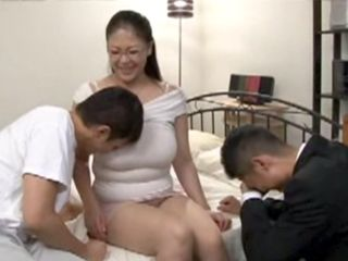 Family Getting Around Turns Into Threesome Fucking