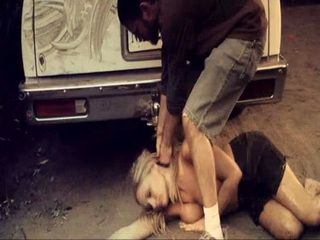 Hooligans Tortured Hitchhiker Girl And Made Her Beg For Mercy - Mainstream Movie