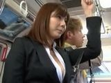 Flashing On Asian Teen Hot Ass In Bus - Yuma Asami