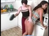 Pissed Off Mother Spanking Her Naughty Daughter