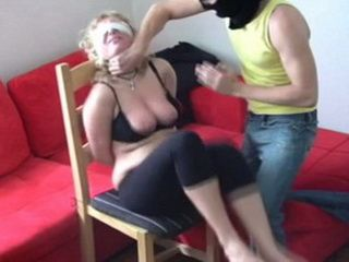 Helpless Women Gets Brutalized And Molested By Masked Nerighbor