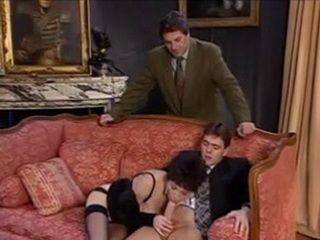 Husband Caught German Wife While Talking A Blowjob To His Best Friend
