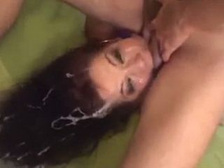 Poor Shayna Knight Almost Drowned With Mouth Full Of Cum During Brutal Blowjob