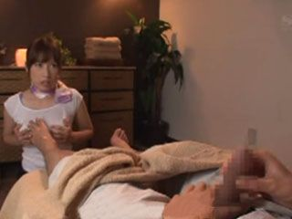 Busty Masseuse Saki Okuda Give Her Best To Fulfill Expectations Of Demanding Customer
