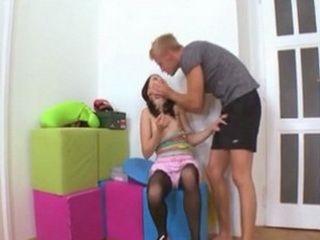 Confused Teen Olga Found Herself In Awkward Situation With Brothers Best Friend